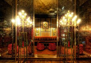 Фото Интерьер Комната Лампа lighting room decor pictures luxury