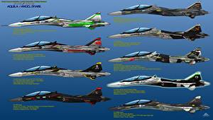 Фотографии Самолеты Истребители IFX Project-IFX-45 Aquila-Special Livery Авиация