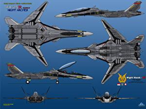 Картинки Самолеты Истребители IFX-25R Mark II Night Archer Авиация
