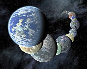 Фото Планеты Космос 3D_Графика