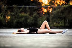 Обои Гимнастика Ноги Спорт Девушки фото