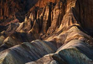 Обои США Парк Скалы Badlands National Park Природа