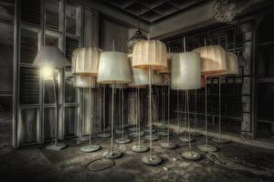 Фотографии Комната Лампа