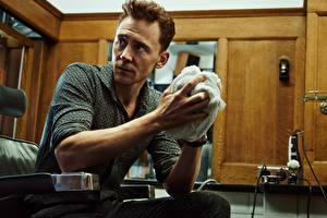 Картинки Tom Hiddleston Мужчины Tomo Brejc Evening Standard Знаменитости