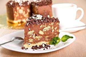 Обои Пирожное Сладкая еда Шоколад Торты Еда