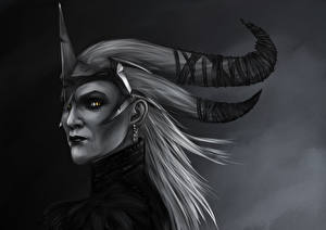 Обои Dragon Age Flemeth Фэнтези