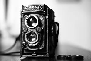 Обои Ретро Крупным планом Фотоаппарат Yashica MAT 124G фото