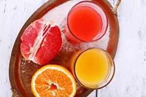 Картинки Напиток Сок Апельсин Стакан 2 Пища