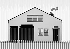Фотографии Дома Рисованные Карандаши The Pencil House
