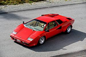 Фотография Lamborghini Красная 1978 Bertone Countach