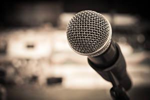 Обои Крупным планом Микрофон Музыка фото