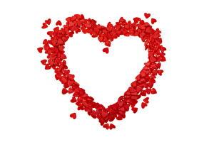 Обои Любовь Сердце Природа
