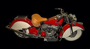 Обои Ретро Красный Мотоциклы фото