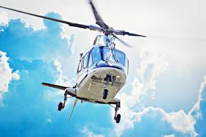 Фото Самолеты Вертолеты Облака
