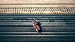 Картинка Лестница Балет Vanessa Девушки