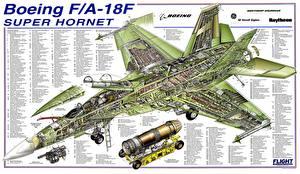 Картинка Самолеты Истребители Boeing Boeing F/A-18F Super Hornet Авиация
