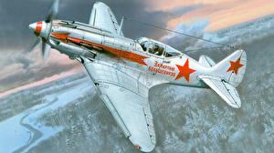 Картинки Самолеты Рисованные Истребители Mig 3