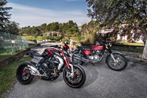 Обои Honda - Мотоциклы classic Мотоциклы фото