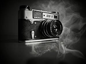 Обои Ретро Крупным планом Дым Фотоаппарат Smoking Veteran Природа фото