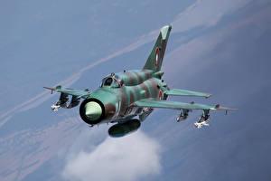 Обои Истребители Самолеты Mikoyan-Gurevich MiG-21