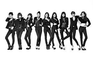 Фото Азиаты Костюм Nine Muses Музыка Знаменитости Девушки