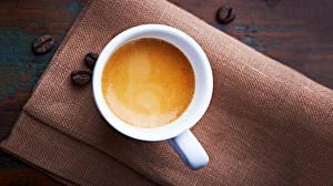 Обои Кофе Напитки Капучино Чашка Зерна Еда фото