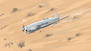 Фотография Самолеты Истребители Рисованные