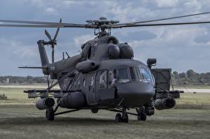 Обои Вертолеты Mil Mi-8 Авиация фото