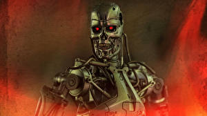 Картинка Терминатор Игрушки Робот Фантастика T-800 Фэнтези