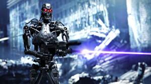 Картинка Терминатор Игрушки Робот T-800 Фэнтези