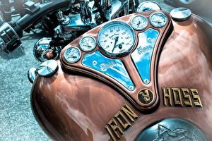 Обои Крупным планом iron hoss Мотоциклы фото