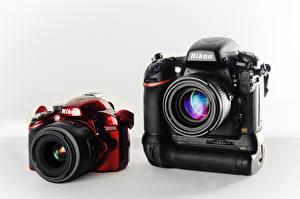 Обои Крупным планом Фотоаппарат D3200 D800 Nikon фото