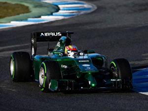 Обои Формула 1 Caterham ct05 sport formula 1 Спорт Автомобили