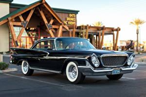 Обои Chrysler Черные 1961 машина