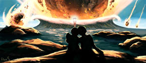 Фотография Фантастический мир Астероиды Волны Любовь 2 Фантастика