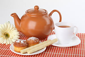 Обои Чай Маффин Чашка