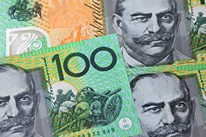 Обои Доллары Купюры Деньги Австралия фото