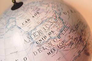 Фотография География Канада Крупным планом Глобусы
