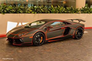 Фотография Lamborghini Стайлинг Дорогая машина
