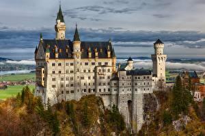 Фото Германия Замки Нойшванштайн Бавария Города
