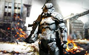 Фото Игрушки Звездные войны Солдаты Клоны солдаты Stormtrooper кино Фэнтези