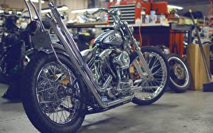 Обои Тюнинг custom chopper looser machine bike Мотоциклы