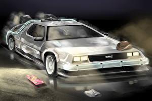 Фотография Назад в будущее DeLorean DMC-12 Автомобили
