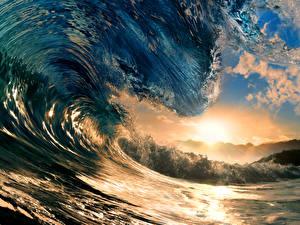Обои Волны Природа