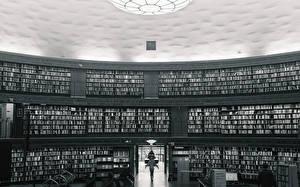 Обои Швеция Библиотека