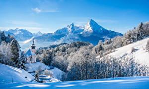 Обои Альпы Природа