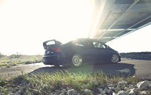 Картинка Хонда Синие civic si авто