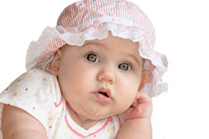 Фотография Грудной ребёнок Лицо Взгляд Дети