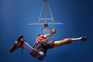 Фотография Баскетбол Мужчины Ноги спортивные