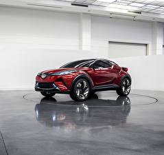 Фотография Скион Красная C-HR Concept авто